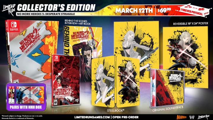 No More Heroes 2 Collector's Edition