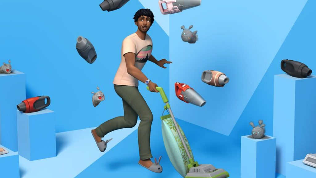 The Sims 4 - Bust the Dust Kit