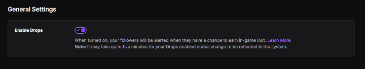 Twitch - Drops Enabled