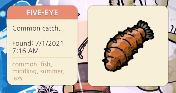 Cozy Grove - Five-Eye