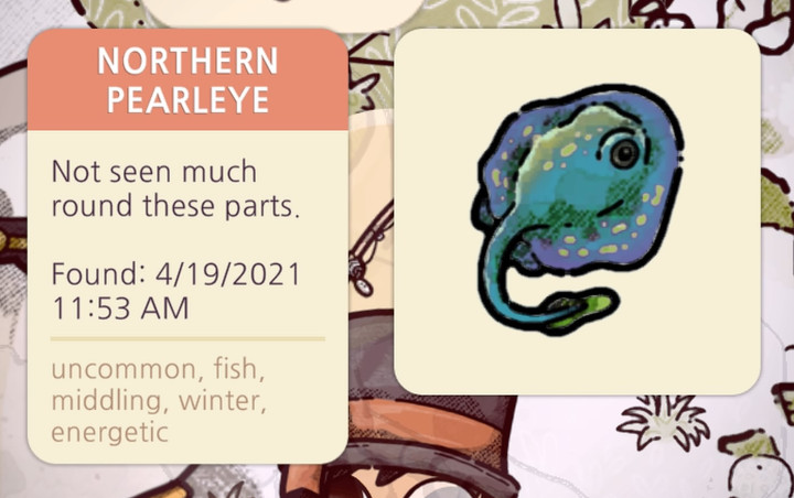 Cozy Grove - Northern Pearleye