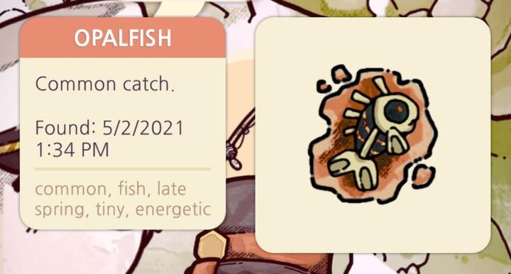 Cozy Grove - Opalfish