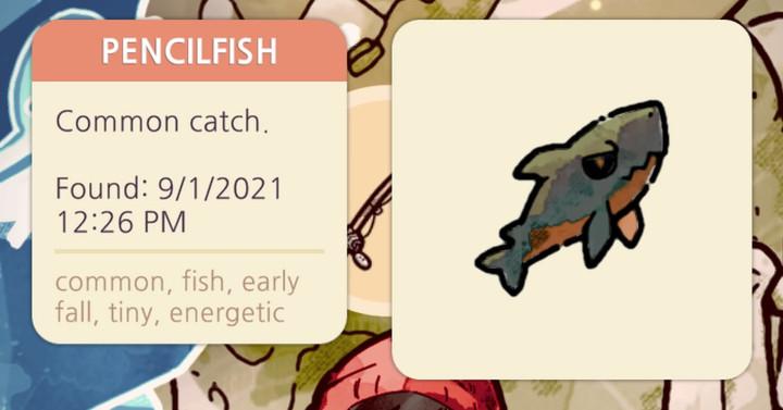 Cozy Grove - Pencilfish