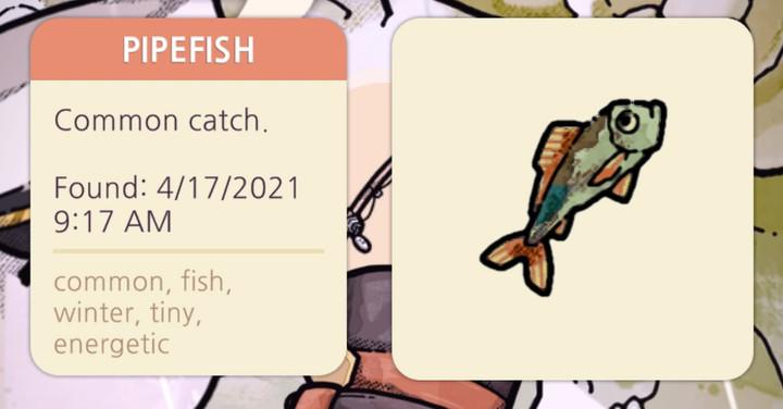 Cozy Grove - Pipefish
