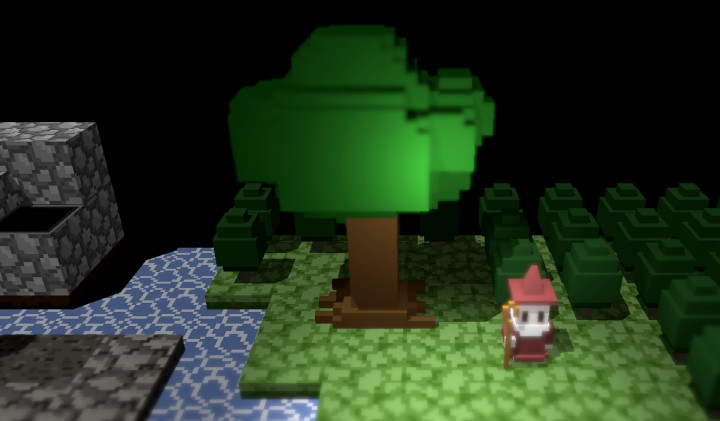 Dungeon and Gravestone - Big Tree