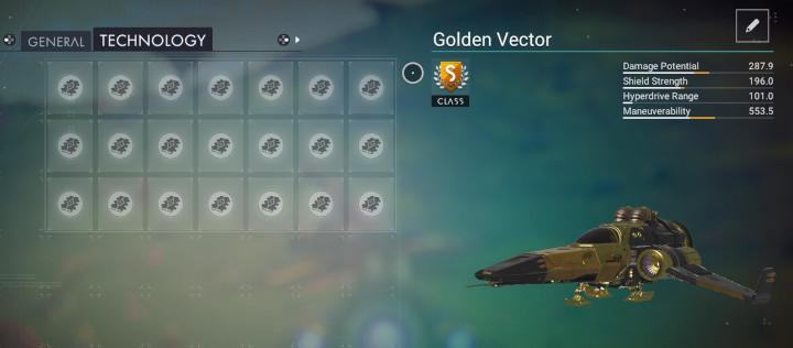 No Man's Sky - Golden Vortex