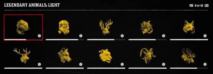 Red Dead Online - Legendary Animals Light