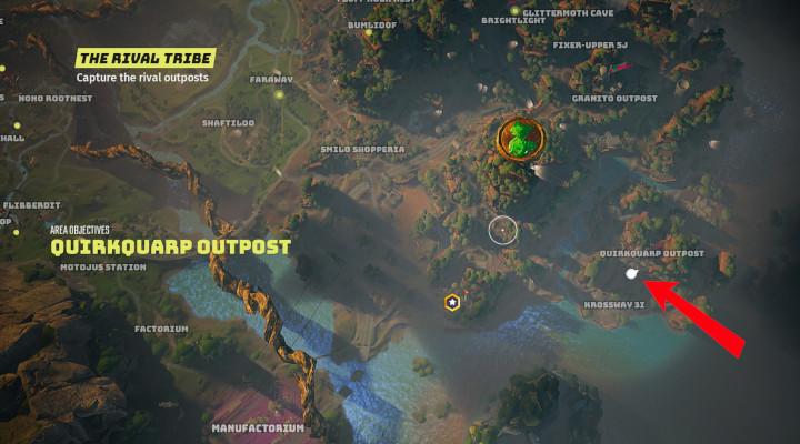 Biomutant - Quirkquarp Outpost
