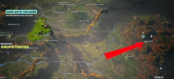 Biomutant - Bumlidof Location