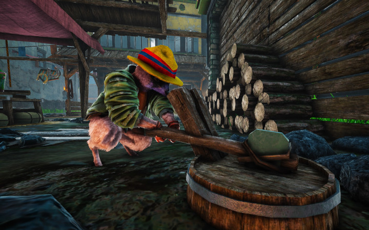 Biomutant Guide: How to Farm Wood (and Other Resources)