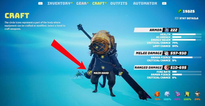 Biomutant - Craft Melee Weapons