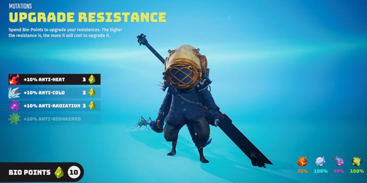 Biomutant - Upgrade Resistance