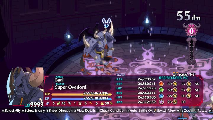 Disgaea 6 - Baal