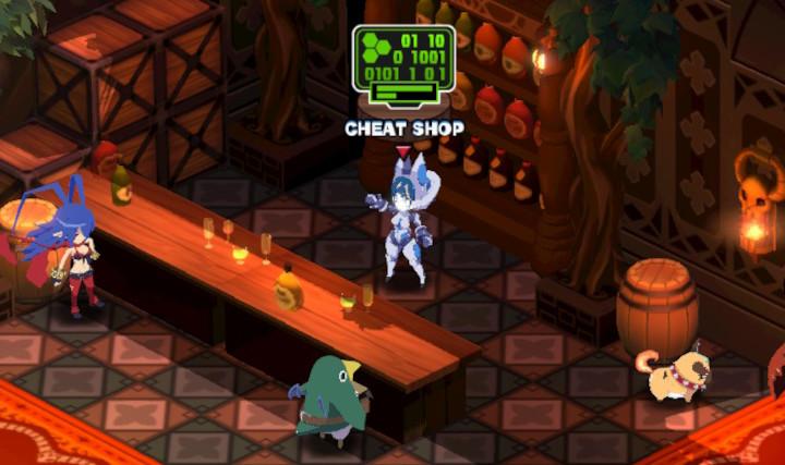 Disgaea 6 - Cheat Shop