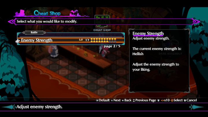 Disgaea 6 - Enemy Strength