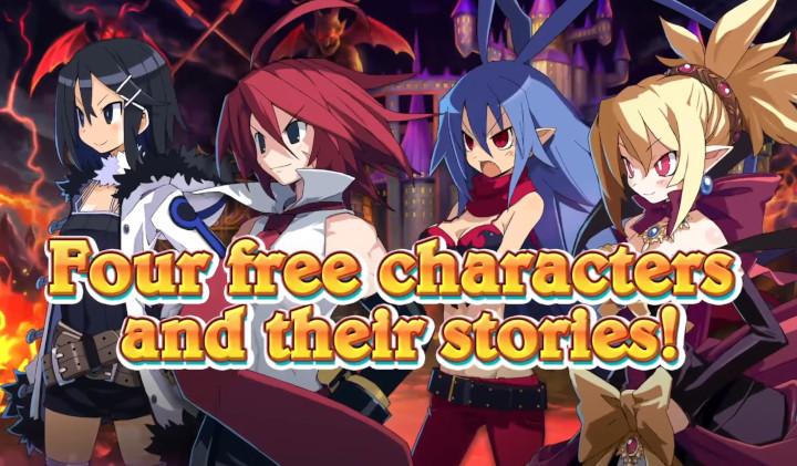 Disgaea 6 - Free DLC Characters