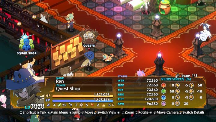 Disgaea 6 - Quest Board