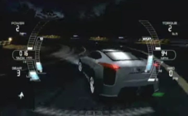 The Fast and the Furious 3D - 2006 console game