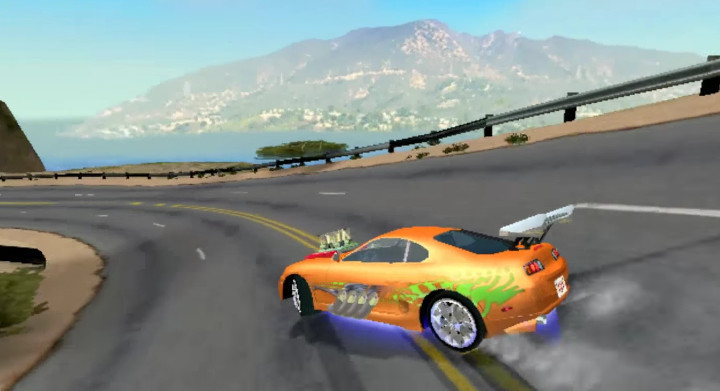 The Fast and the Furious - 2004 arcade game