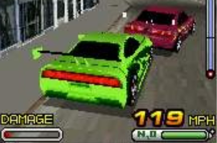 The Fast and the Furious 3D - 2005 mobile game