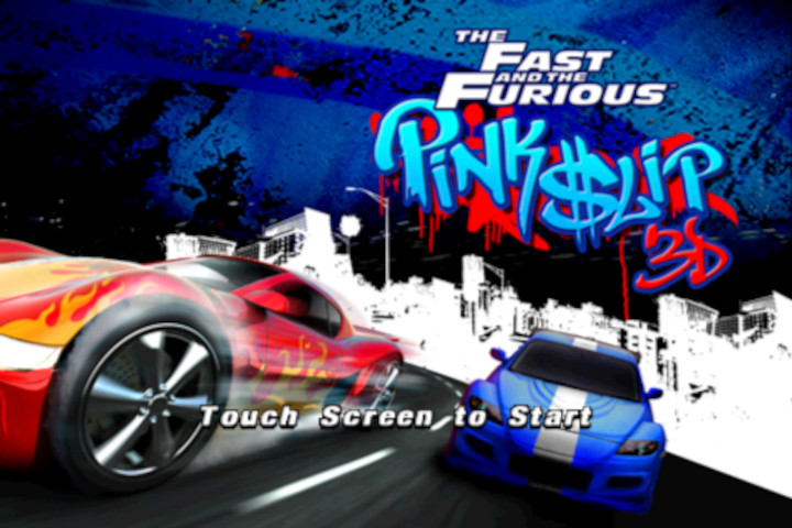 The Fast and the Furious: Pink Slip 3D