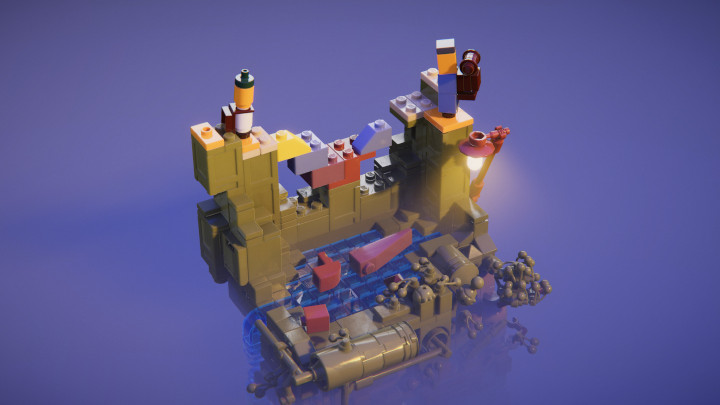 Lego Builder's Journey Is a Zenlike Puzzle Game Where You Complete Lego Dioramas