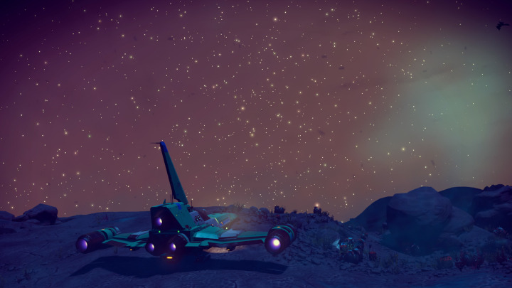 Dramatic Starfields in the No Man's Sky Prisms Update Are Incredible to Behold