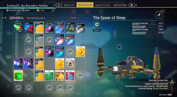 No Man's Sky - The Spear of Sleep