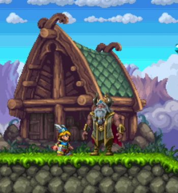 Tiny Thor Is a 16-bit Platformer with an Incredible Hook