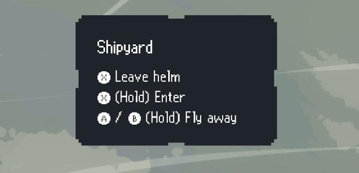 Black Skylands - Shipyard menu
