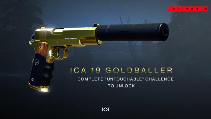 Hitman 3 - ICA19 Goldballer