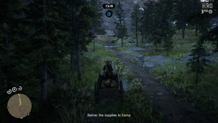 Red Dead Online - Delivery Wagon