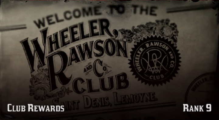 Red Dead Online - Club Rewards