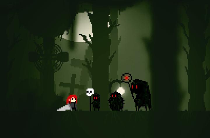 Lady Hunt Is a Soulsborne-Inspired Pixel Platformer