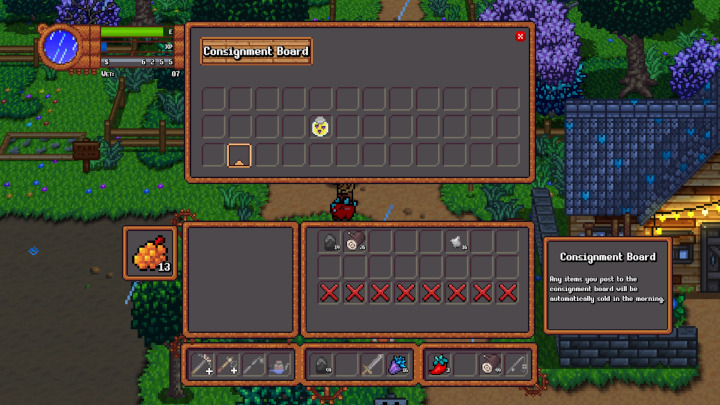 Monster Harvest - Consignment Board