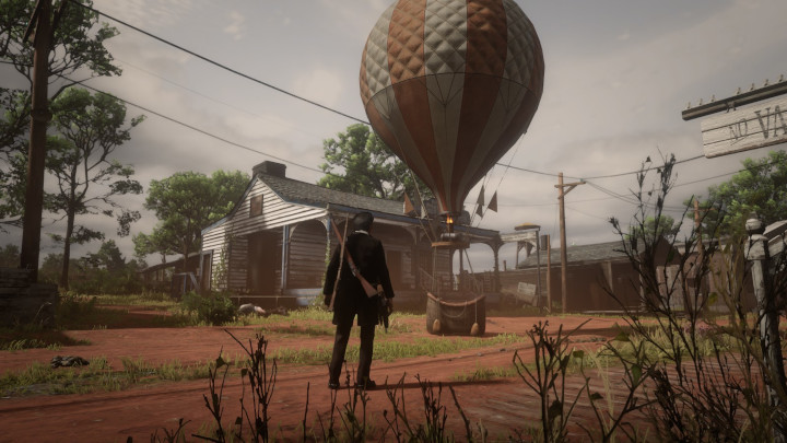 The Red Dead Online Hot Air Balloon Is Back, but Now It's in Rhodes