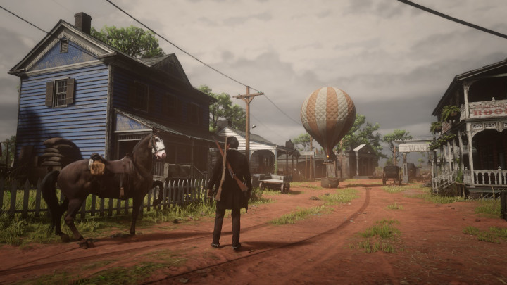 Red Dead Online - Hot Air Balloon