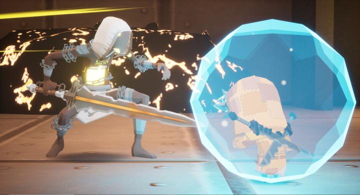 Blue Fire Combat Gameplay