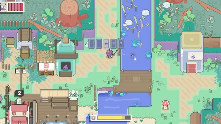 Garden Story Fishing Gameplay