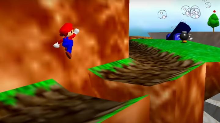 Super Mario 64 - Bob-omb Battlefield