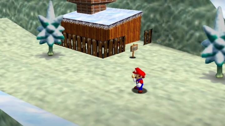 Super Mario 64 - Cool, Cool Mountain