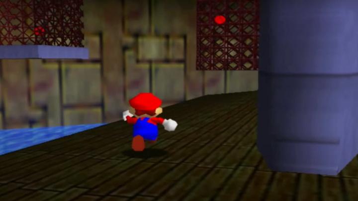 Super Mario 64 - Dire, Dire Docks