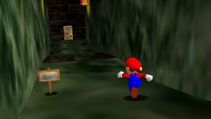 Super Mario 64 - Hazy Maze Cave