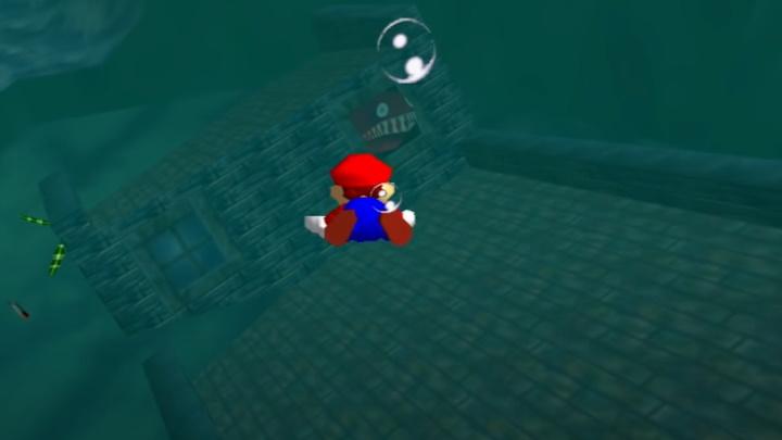 Super Mario 64 - Jolly Roger Bay