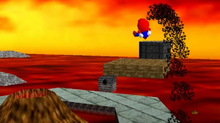 Super Mario 64 - Lethal Lava Land