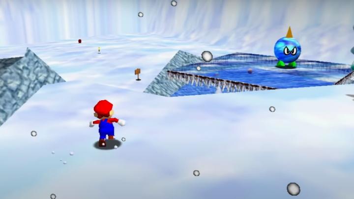 Super Mario 64 - Snowman's Land