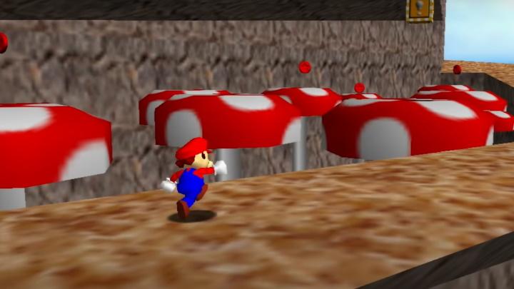Super Mario 64 - Tall, Tall Mountain