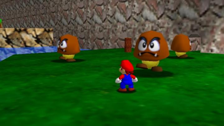 Super Mario 64 - Tiny-Huge Island