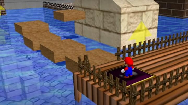 Super Mario 64 - Wet-Dry World
