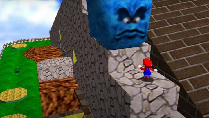 Super Mario 64 - Whomp's Fortress